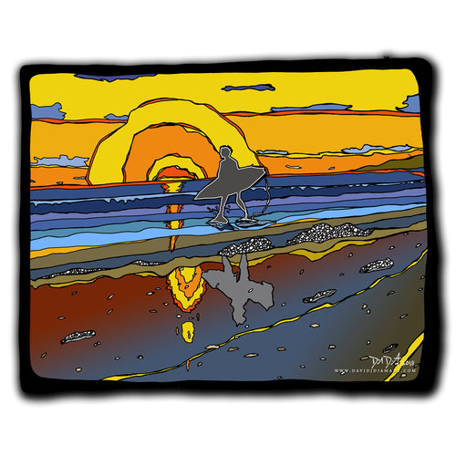 Sunset Surfer 14