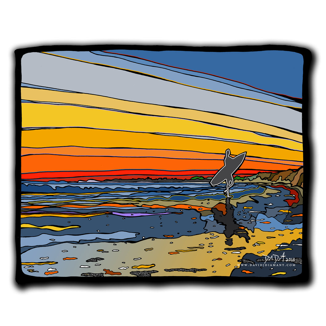 Sunset Surfer 6