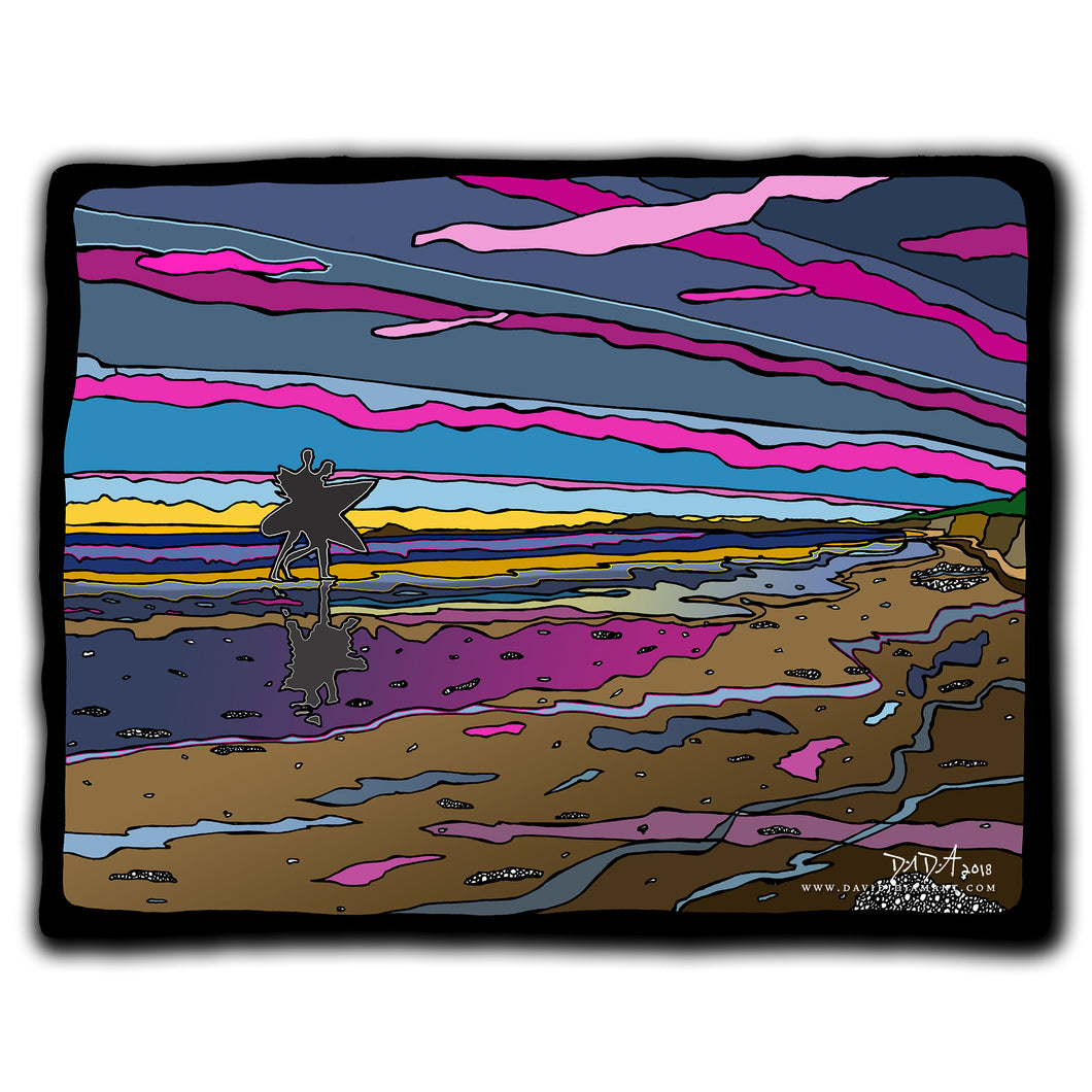 Sunset Surfer 7