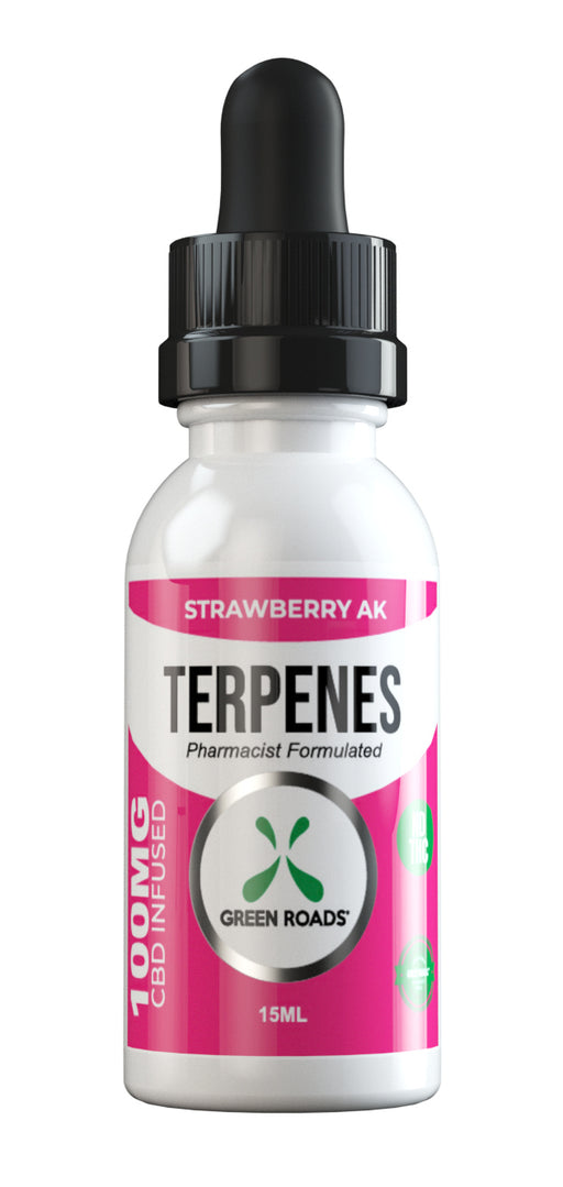 Green Roads - CBD Terpenes Oil - 100mg - Strawberry AK
