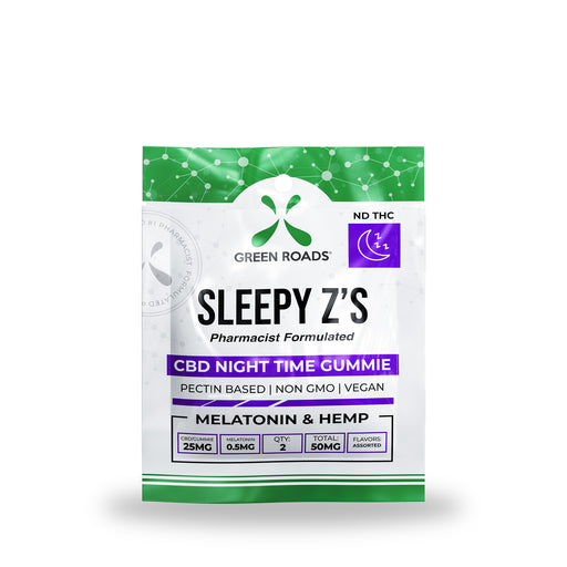 Green Roads - CBD Edibles Sleepy Z's Night Time Gummies 2ct - 50mg