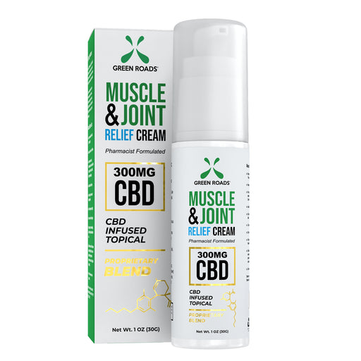 Green Roads - CBD Muscle & Joint Relief Cream w/ Menthol - 1.2oz 300mg