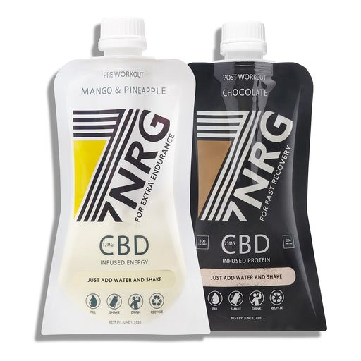 7NRG-CBD Infused Energy and Protein Bundle
