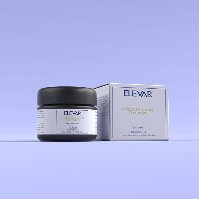 Elevarx - Broad Spectrum Chews - (THC-FREE)
