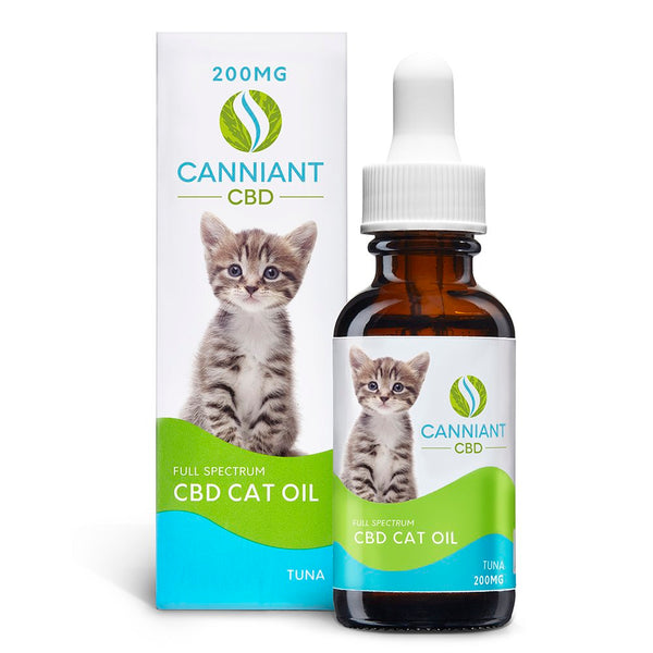 Canniant CBD Cat Oil 200mg 30ML Tuna