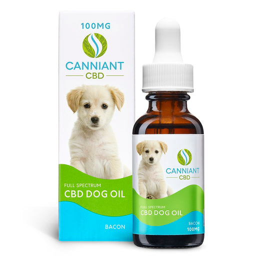 Canniant CBD Dog Oil 100mg 30ML Bacon