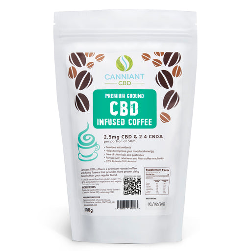 Canniant-Premium Ground CBD Coffee-200g