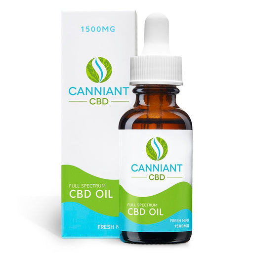 Canniant CBD Oil Fresh Mint 1500mg 30ML