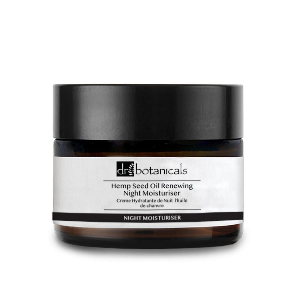 Dr. Botanicals - Hemp Stress Relaxing Antioxidant Night Moisturiser - 50ml