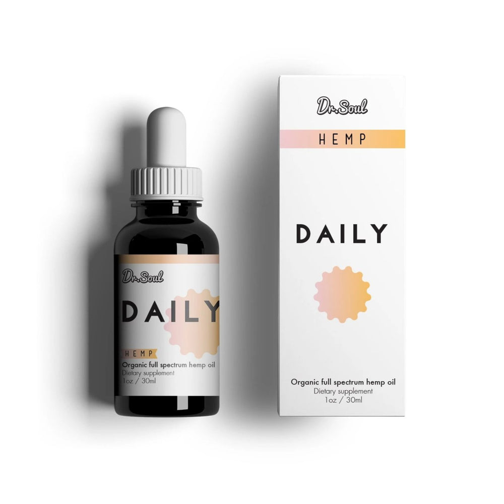 Dr. SOUL DAILY HEMP DROPS 400mg