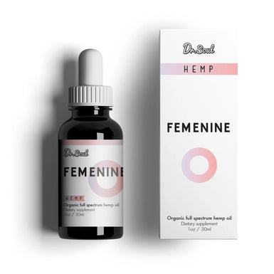 Dr. SOUL FEMININE HEMP DROPS 400mg