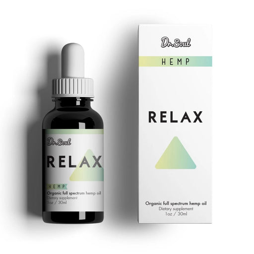 Nirvana - Dr. SOUL RELAX HEMP DROPS - 400mg