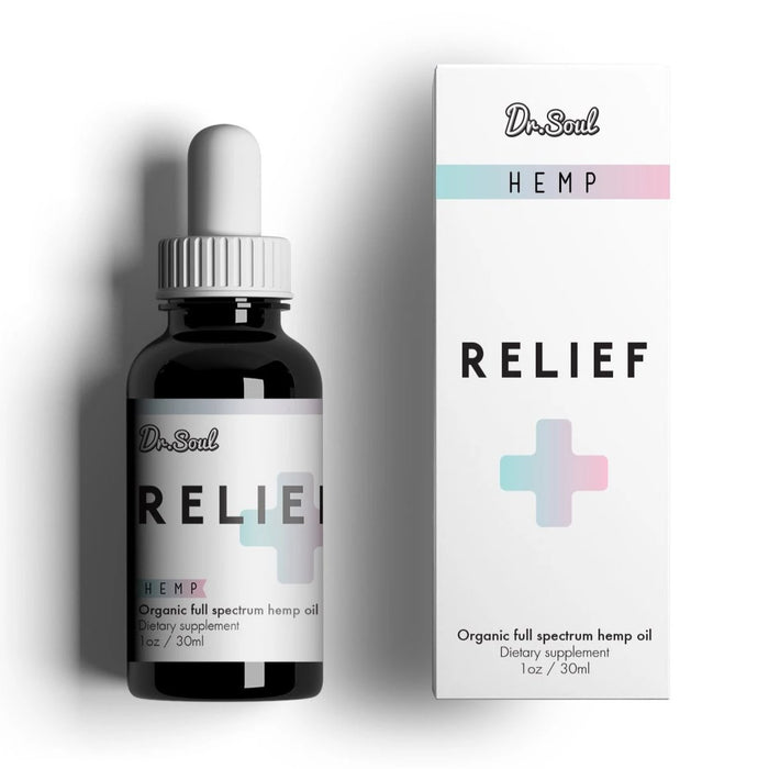Dr. SOUL RELIEF HEMP DROPS 400mg