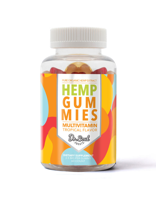 ORGANIC HEMP GUMMIES MULTIVITAMIN TROPICAL FLAVORS