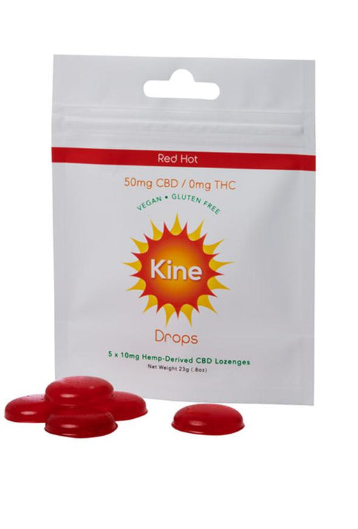 Kine - Red Hot Drops - 50MG CBD or 150MG CBD