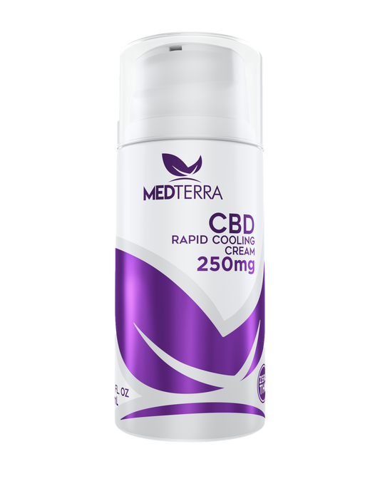 MEDTERRA 250MG TOPICAL COOLING CREAM