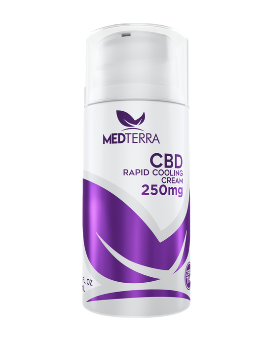Medterra - TOPICAL COOLING CREAM - 250MG