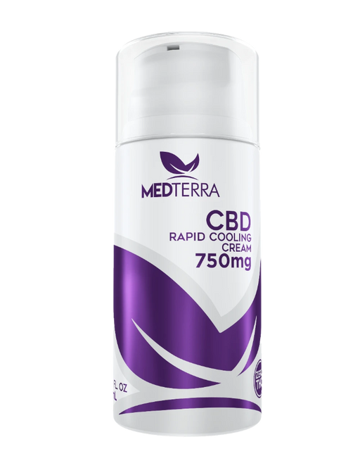 Medterra - TOPICAL COOLING CREAM - 750MG