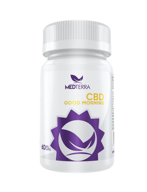 Medterra - GOOD MORNING CBD CAPSULES
