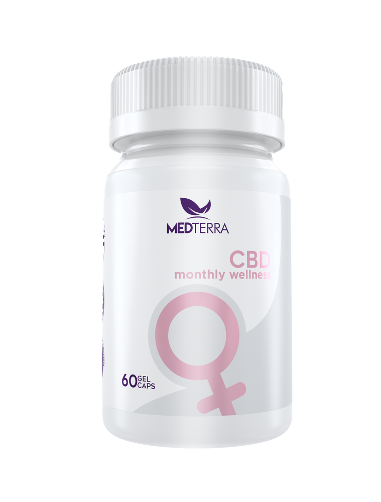 Medterra - MONTHLY WELLNESS CBD CAPSULES