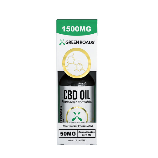 Green Roads - CBD Oil Sublingual - 30ml/1500mg