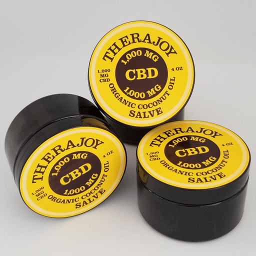TheraJoy - CBD Salve - 1000 mg CBD/4 oz.