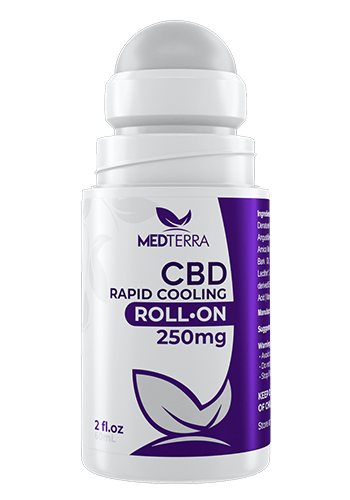 Medterra - RAPID COOLING ROLL-ON - 250MG