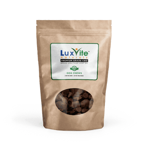 LuxViteCBD - CBD Dog Treats
