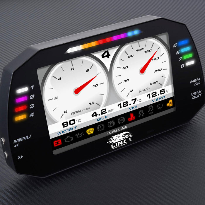 "LINK MXG Strada 7"" Dash - Race Edition"