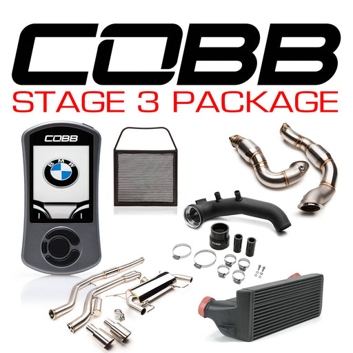 COBB - BMW N54 Stage 3 1-Series Power Package w/V3