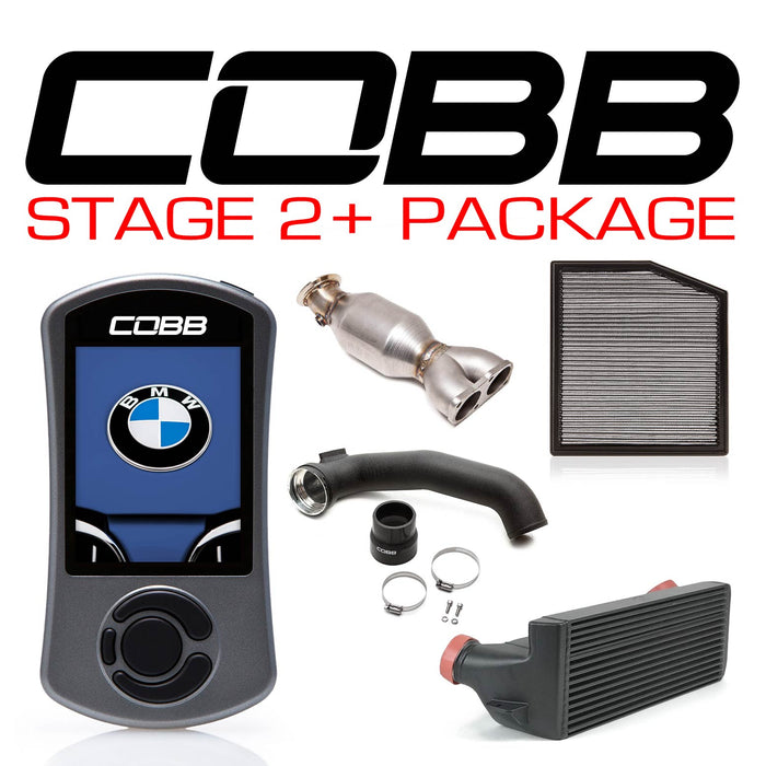 COBB - BMW N55 Stage 2+ Power Package w/V3