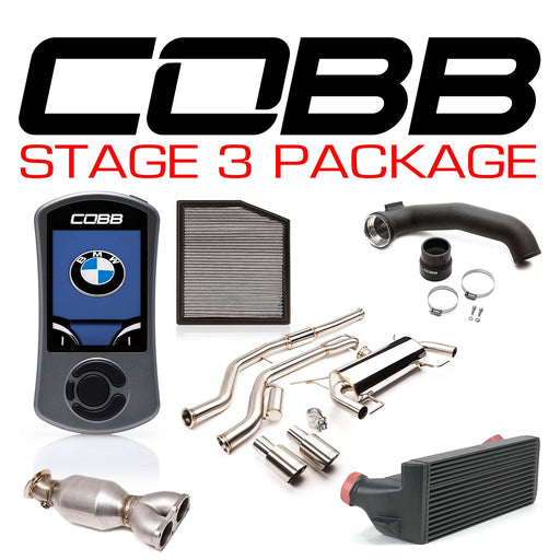 COBB - BMW N55 Stage 3 1-Series Power Package w/V3