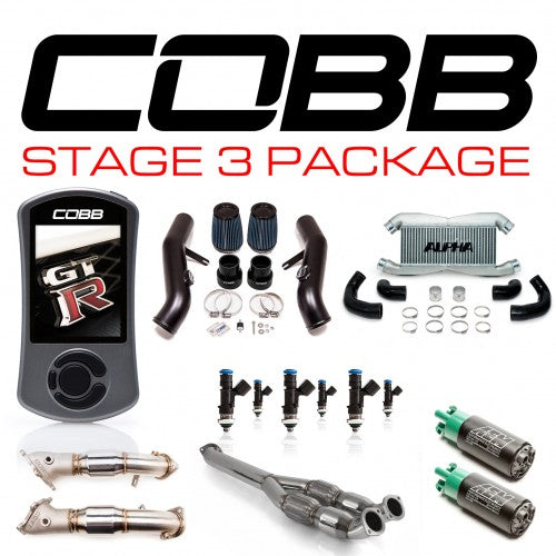 COBB - Nissan GT-R R35 Stage 3 Power Package NIS-006 with TCM Flashing