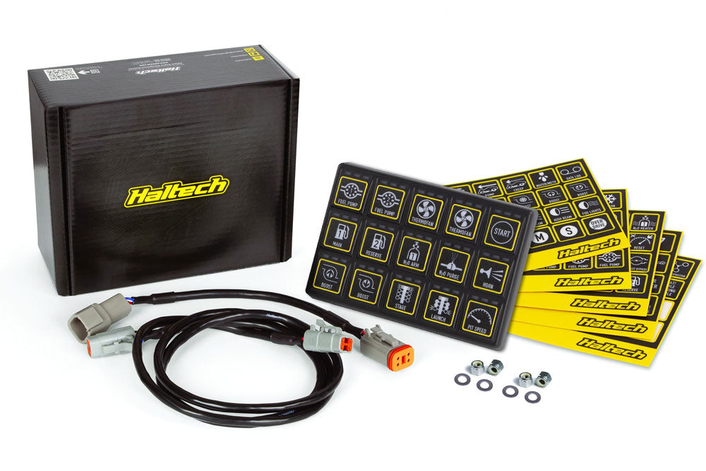 Haltech - CAN Keypad 15 button (3x5)