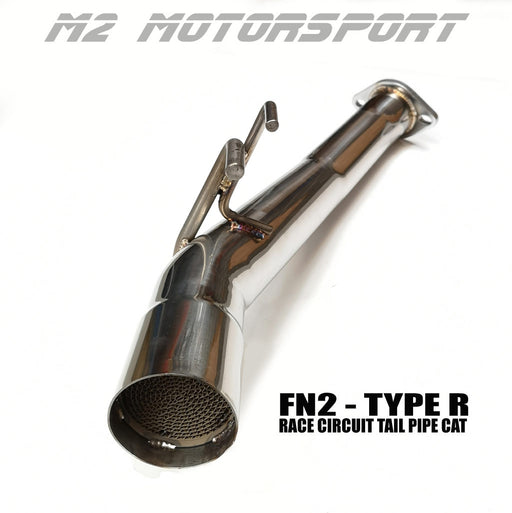 FN2 CIVIC TYPE R - RACE TRACK CAT TAIL PIPE | M2 MOTORSPORT