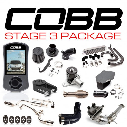 COBB - Mazda 3 Mazdaspeed Stage 3 Power Package Gen2 10-13