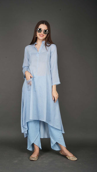 Breezy Blue Suit Set