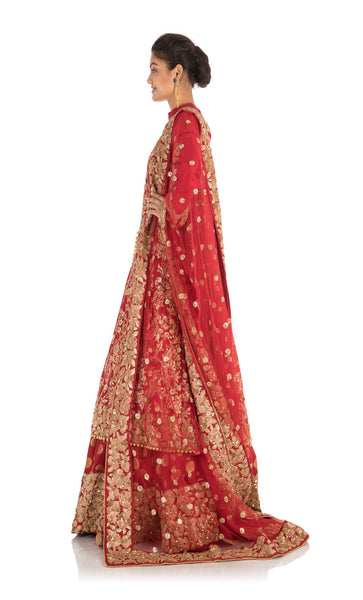 Anju Agarwal Bridal Jacket Lehenga Set