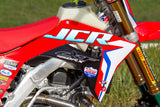 JCR Honda Factory Graphic Kit with number plate backgrounds