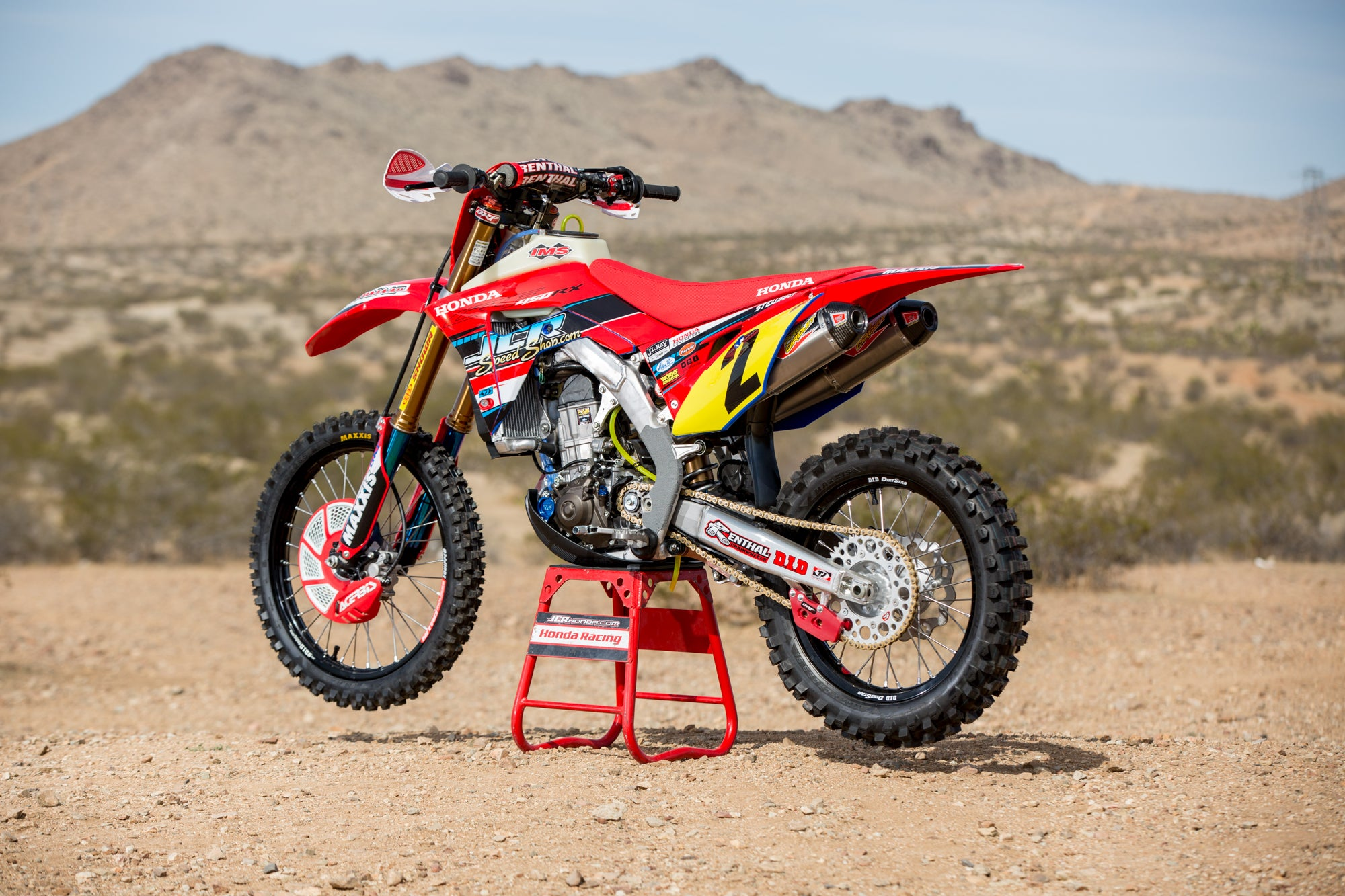 JCR Honda 2018 Race Replica Graphic Kit