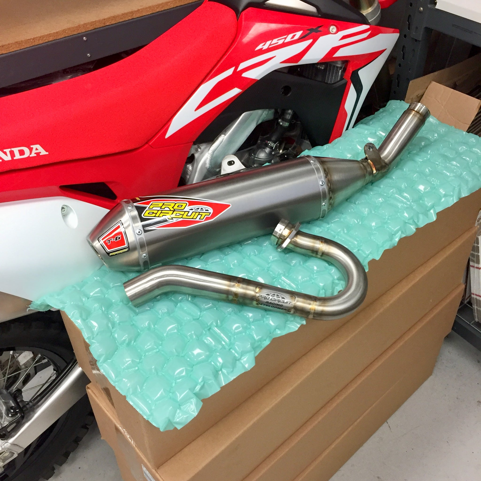 Pro Circuit T-6 Stainless Steel/Ti Exhaust System