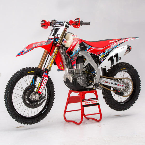 2015 Honda 450R >> JCR Honda 2015 Race Replica Graphic Kit with number plate ...