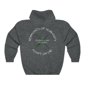 Exodus LARP Systems Remnants of Humanity Unisex Heavy Blend Hooded Sweatshirt