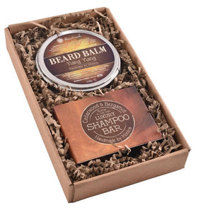 """Cedarwood & Bergamot Valiant"" Gift Set"