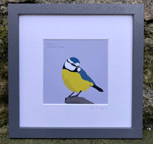Load image into Gallery viewer, Blue Tit - Meantán Gorm Art Print