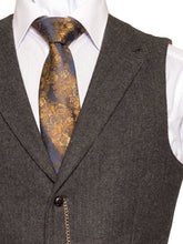 Load image into Gallery viewer, Behan Tweed Waistcoat with Revere