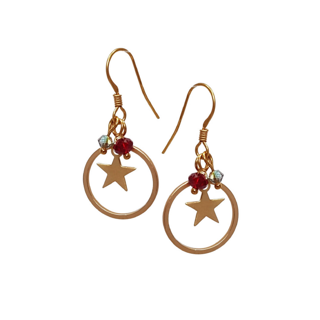 Starry Nights, Small Earrings