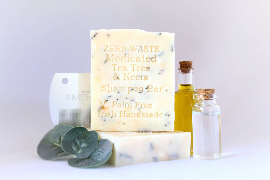 Palm Free Irish Soap, Gently Medicated Shampoo Bar