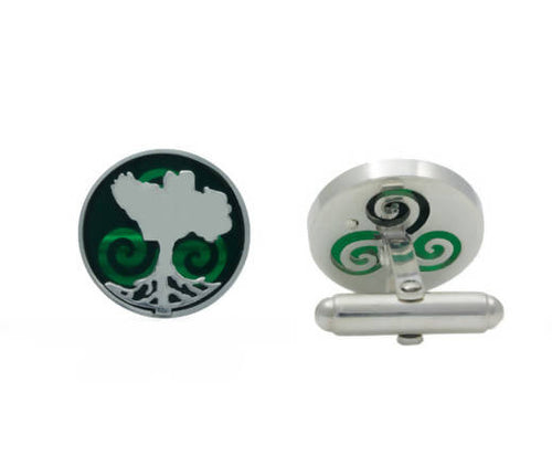 Growing Home Cufflinks - Coloured