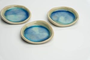 Ceramic Spoon Rest. Handcrafted in Ireland. 2 colours to choose from